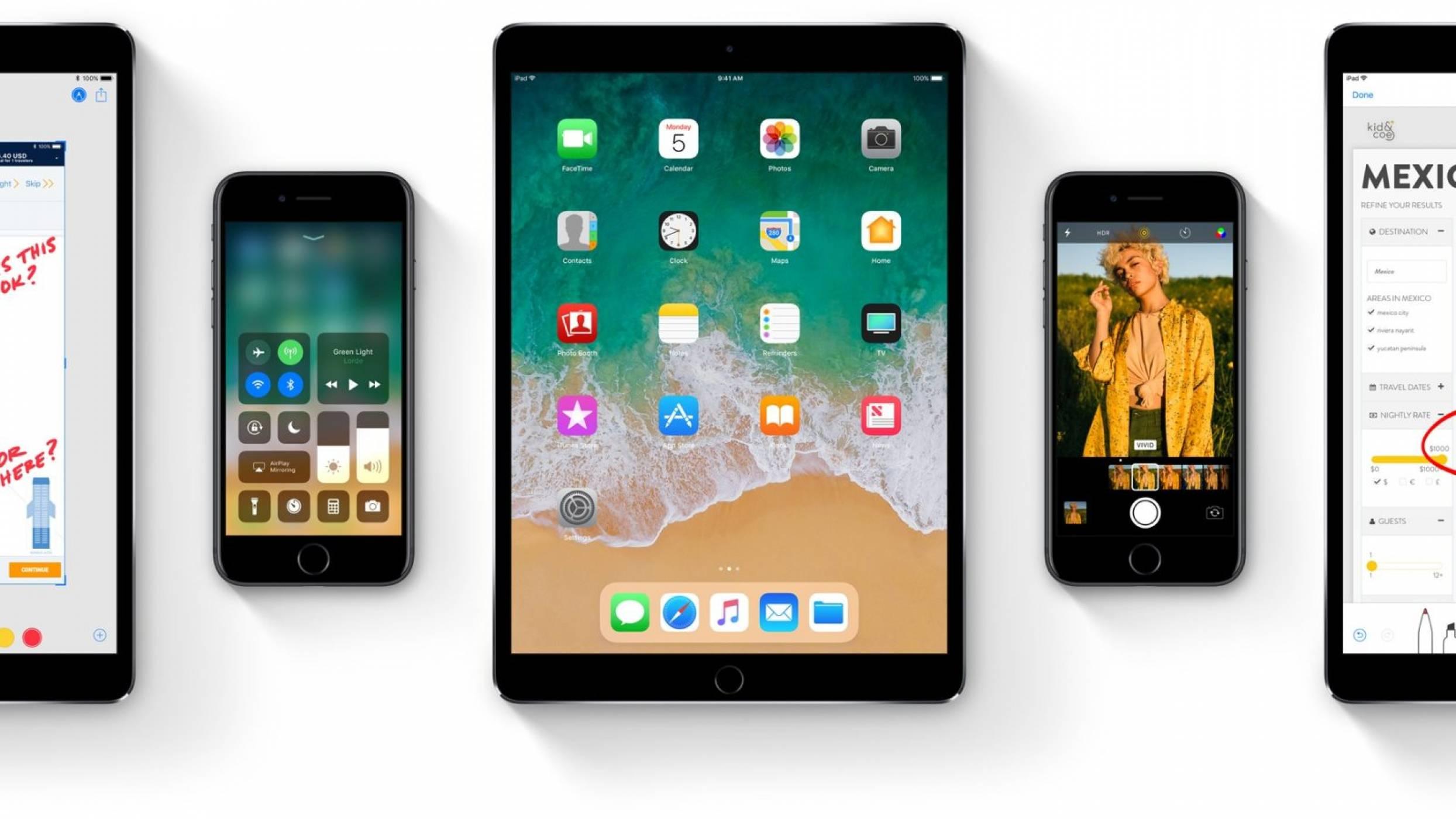 11 нови функции на iOS 11 за вашия iPhone или iPad