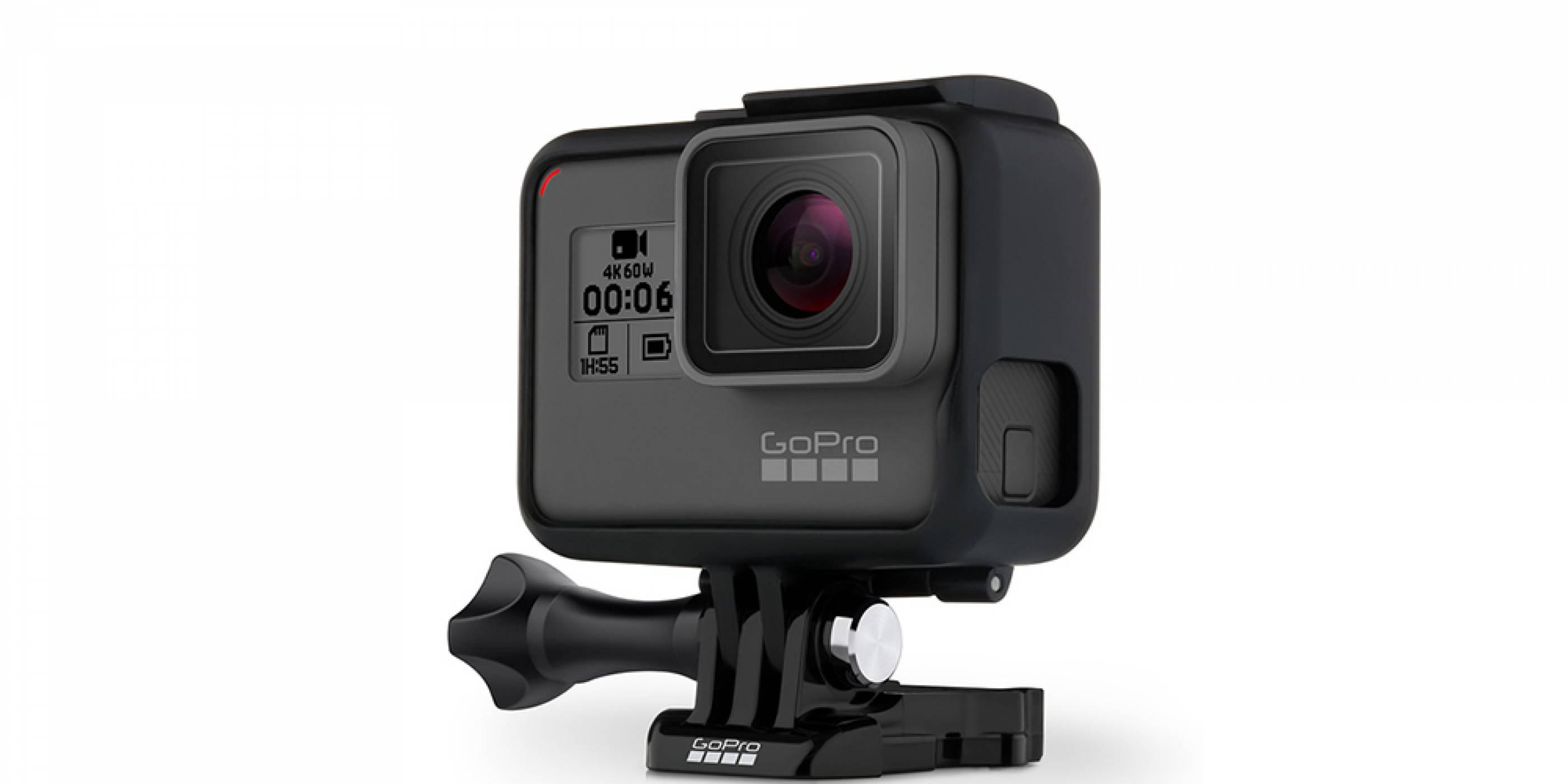 GoPro Hero 6 Black е тук с възможност за запис на 4K видео с 60 кадъра в секунда