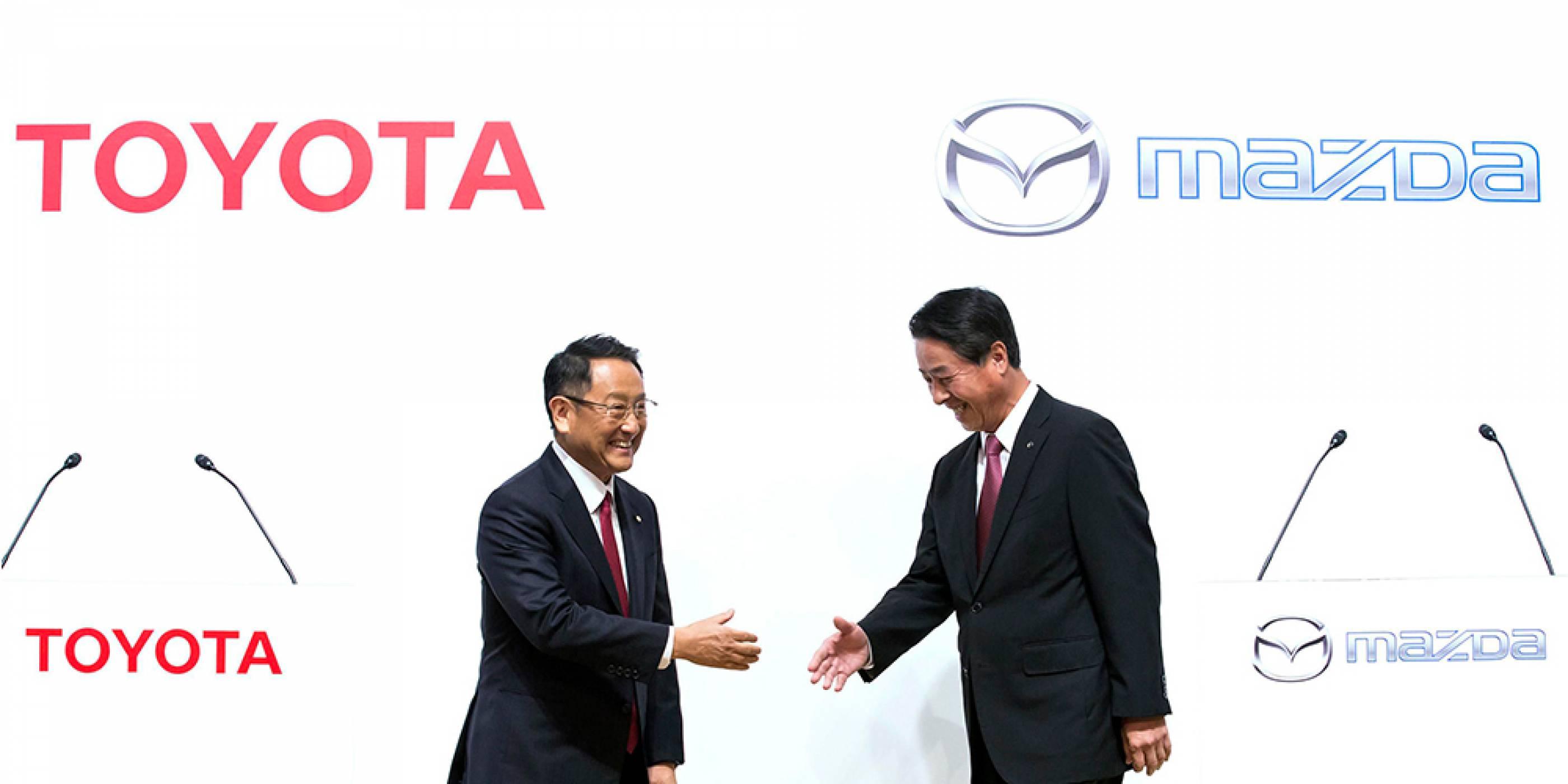 Toyota и Mazda заедно ще създават електромобили