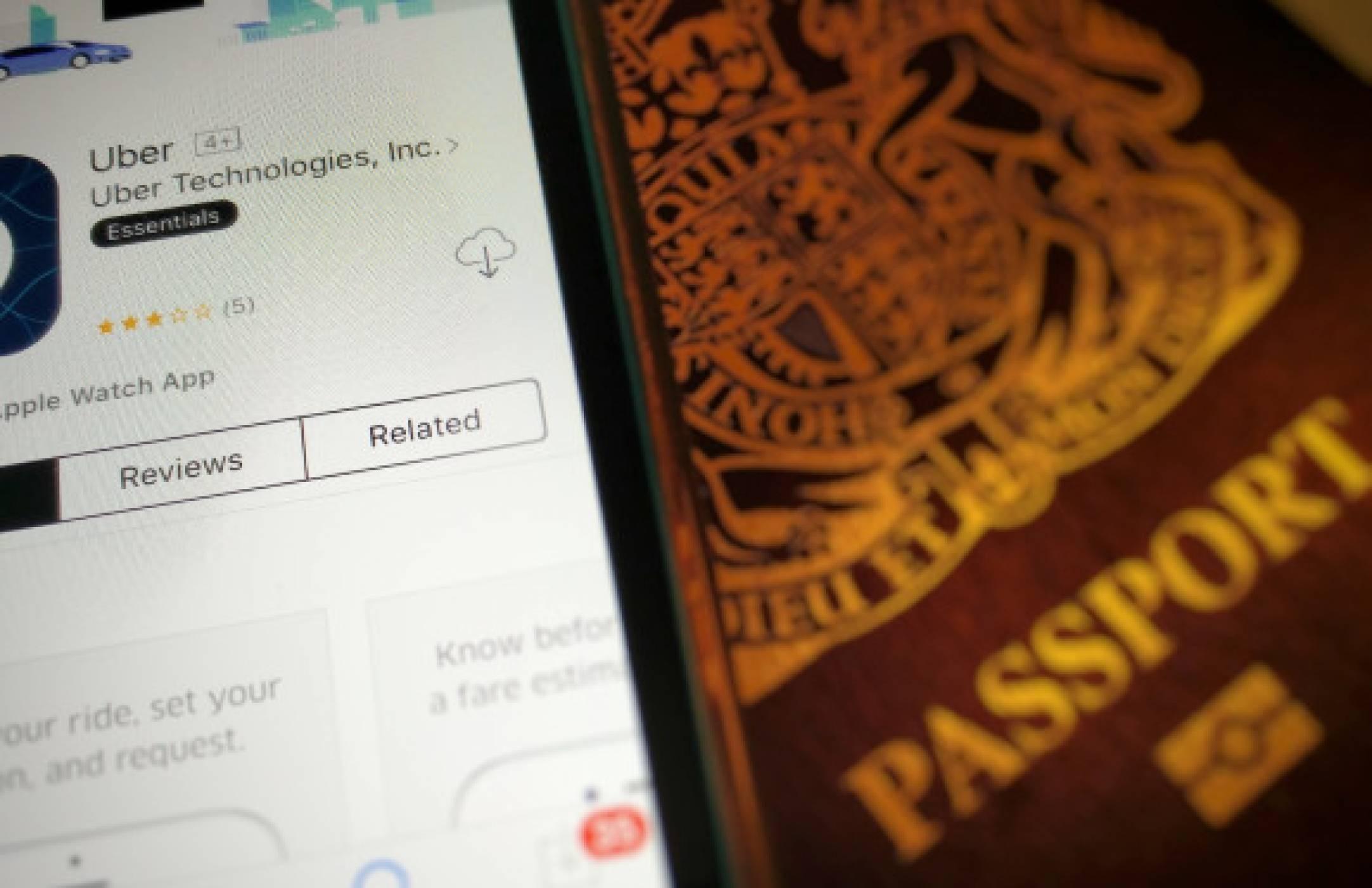 Шефът на Uber на крака в Лондон, за да преговаря за лиценза