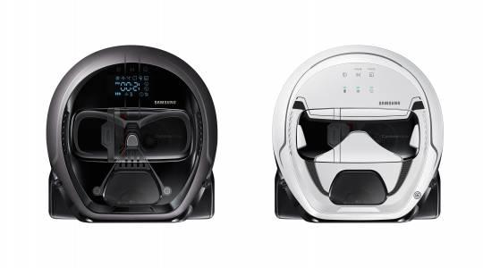 Samsung пускат Powerbot прахосмукачка с лика на Дарт Вейдър... и неговото дишане