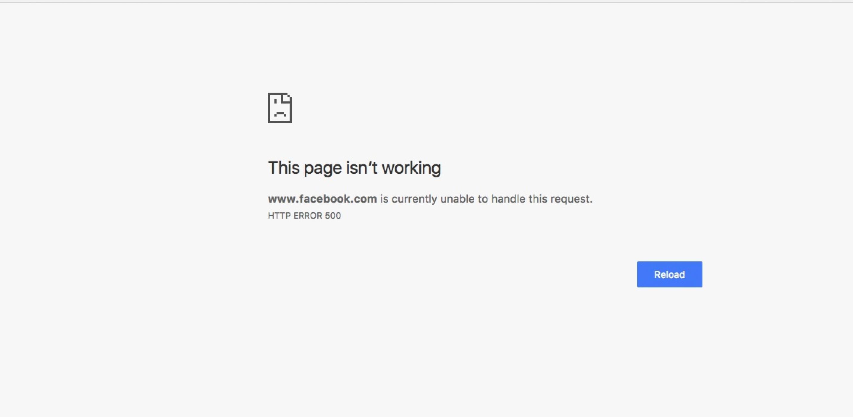 Facebook излезе от строя за потребители по цял свят