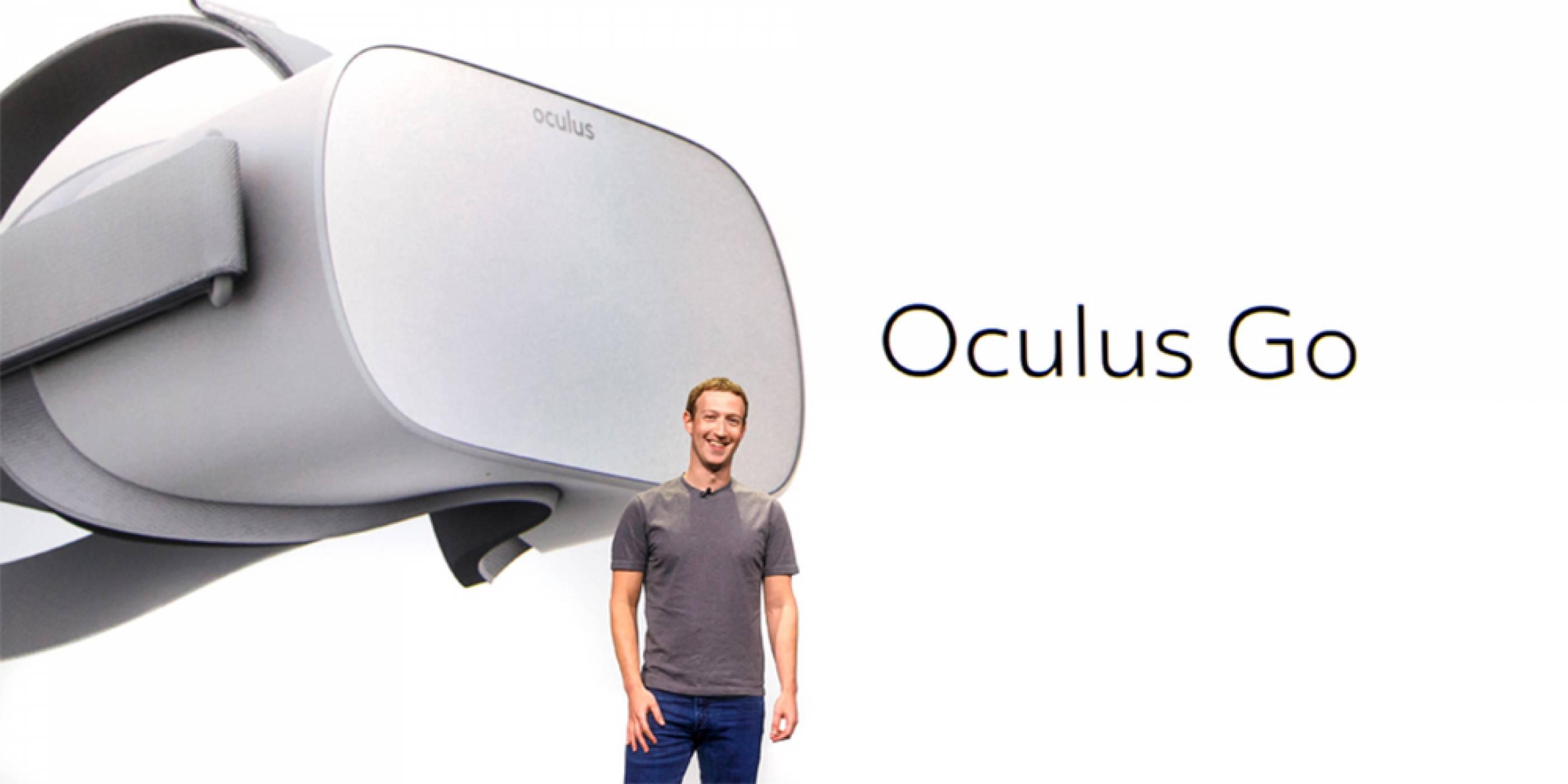 Марк Зукърбърг представи нови самостоятелни VR очила, наречени Oculus Go, на цена 199 долара