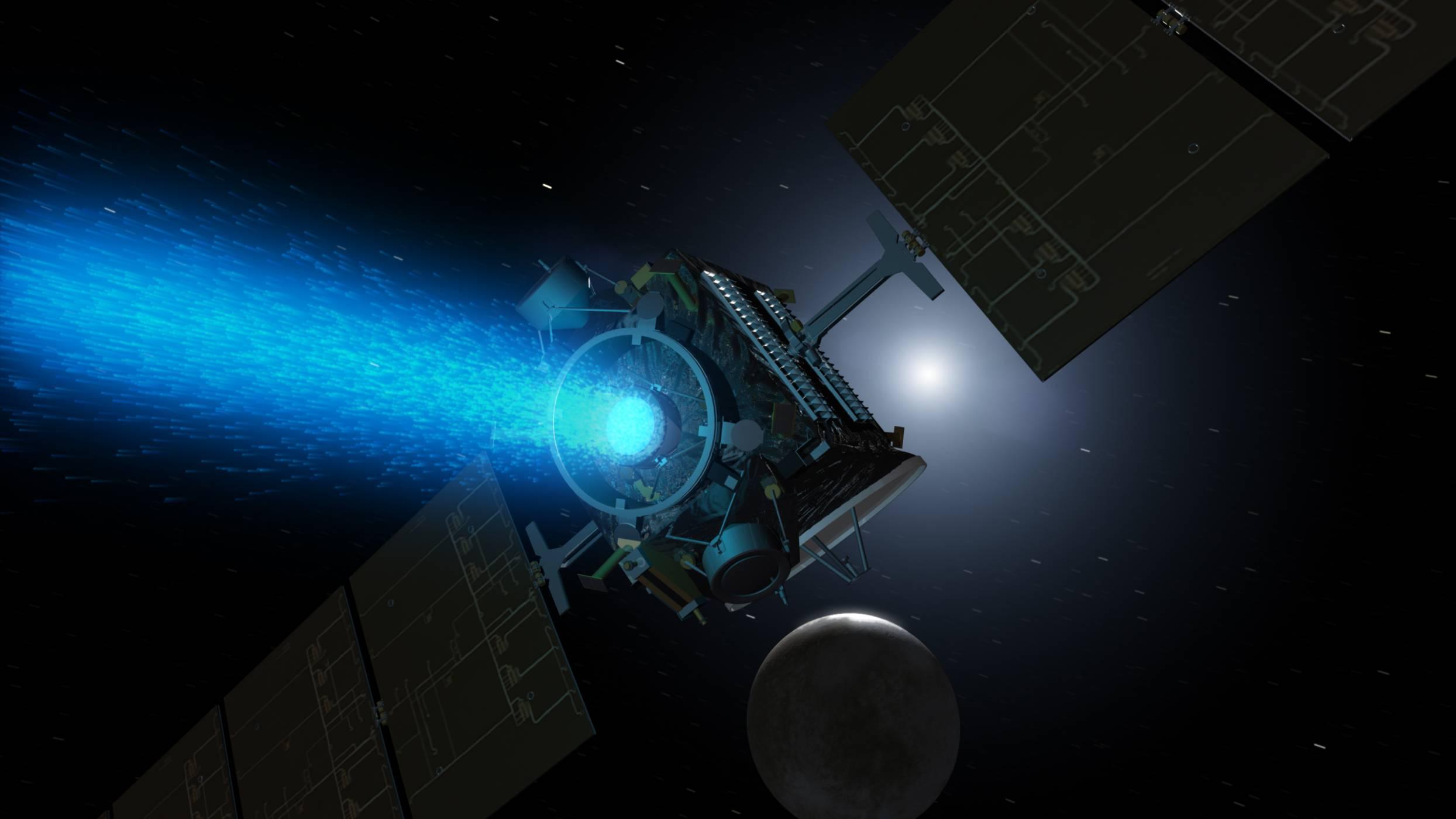 Йонният космически двигател на име X3 от NASA счупи рекордите