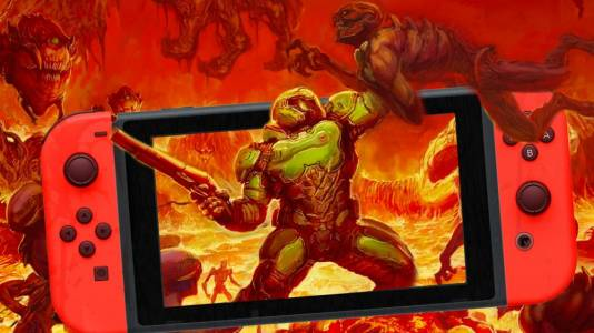 Адът разтваря портите си за Doom на Switch през ноември