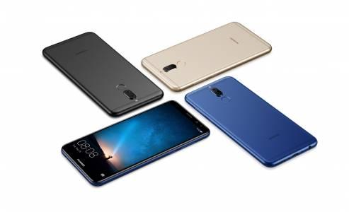 Новият Huawei Mate 10 lite с двойна предна и основна камера е официален