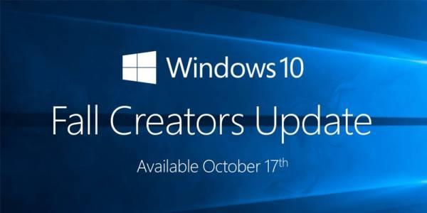 Актуализацията Microsoft Windows 10 Fall Creators е официално достъпна за сваляне