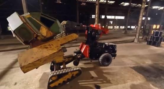 Америка победи Япония в титаничния сблъсък на роботи