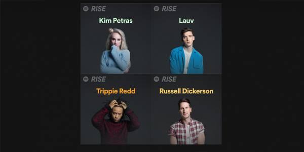 Spotify представи RISE, за да направи път на следващата вълна от суперзвезди