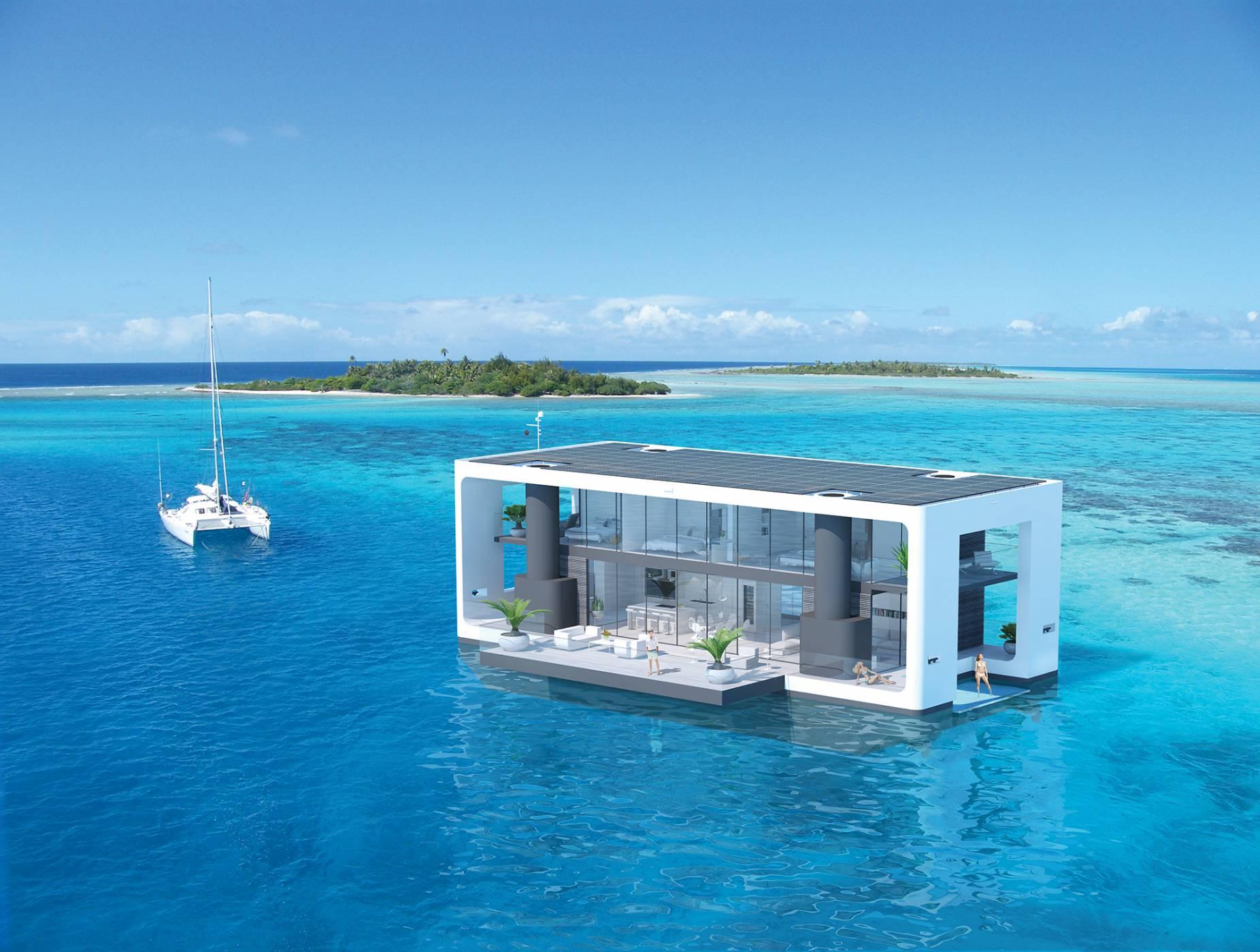 Плаващият дом от ново поколение