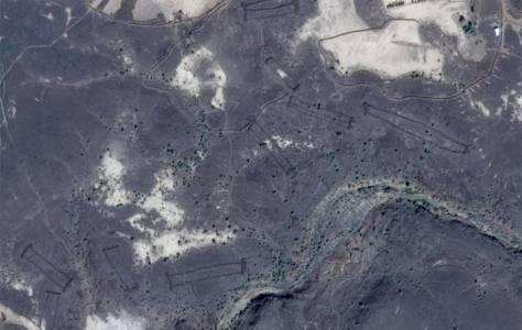 Древни каменни образувания, открити в Google Earth, озадачават учените