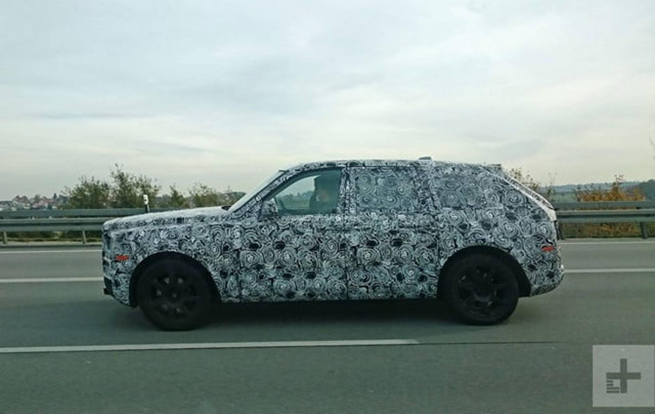Ето как изглежда мистериозният джип на Rolls-Royce