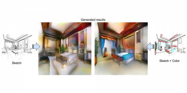 Изкуственият интелект на Adobe Scribbler може да създава реалистични снимки от скици