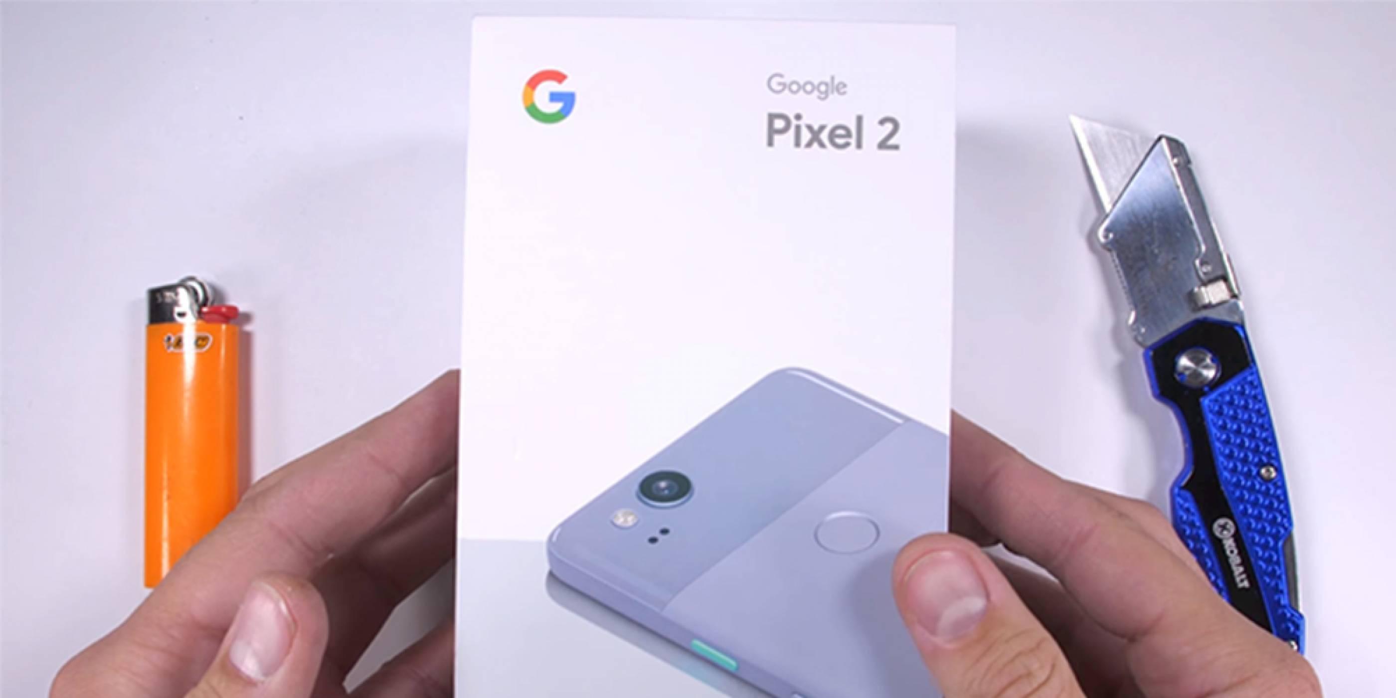 Google Pixel 2 претърпя едни от най-сериозните тестове за издръжливост