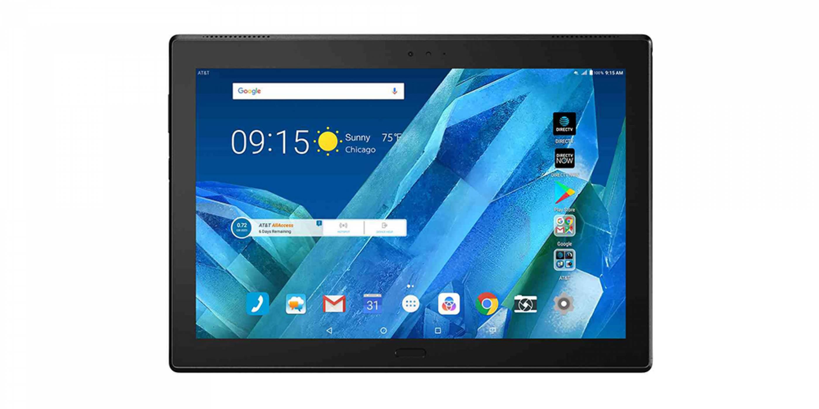 Lenovo представи нов Moto таблет, който съществува заради функцията DirecTV