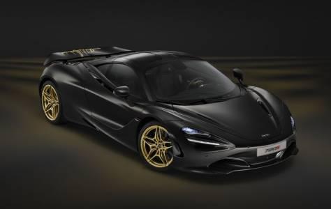 24-каратовата облицовка на двигателя на McLaren 720S дори не е най-впечатляващото в него