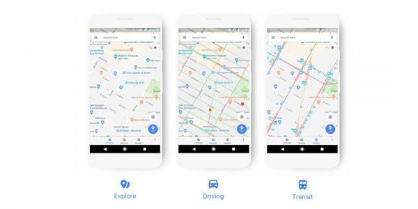 Google Maps скоро ще има нов дизайн и ще се адаптира по-добре към нуждите на всеки потребител