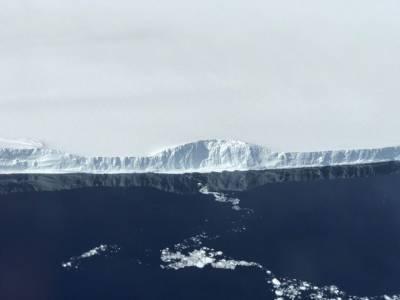 NASA показа невероятни снимки на най-големия откъснал се айсберг