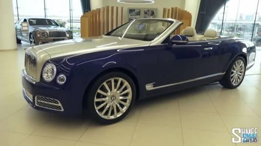 Bentley Mulsanne отбелязва подобаващо стогодишнината на класическата марка