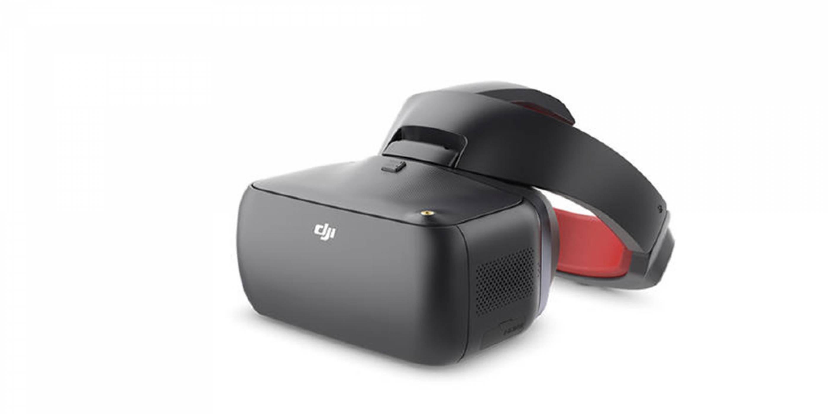 DJI представи VR очила, проектирани за състезателни дронове