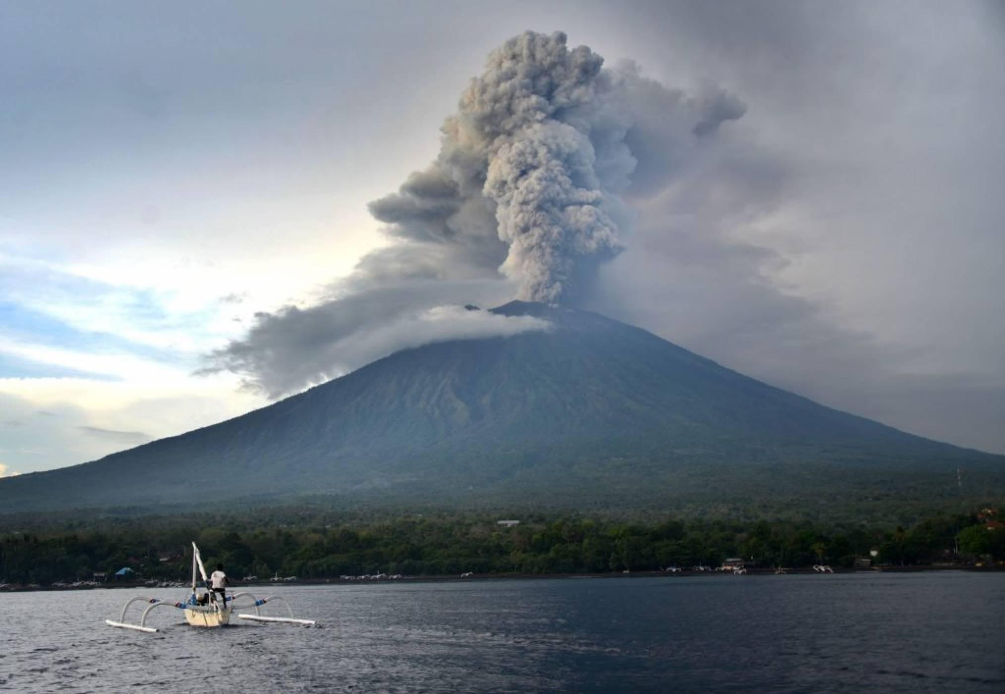 Изригналият на Бали вулкан вероятно ще охлади временно планетата Земя