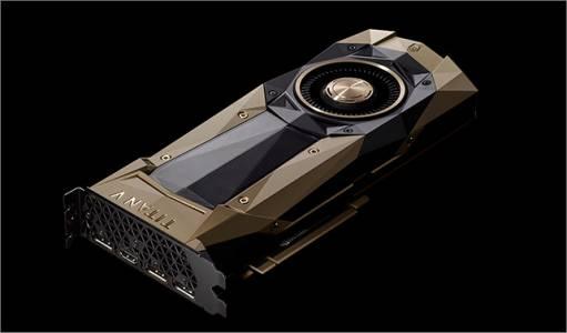 Nvidia представи чудовищната видеокарта Titan V за 2999 долара