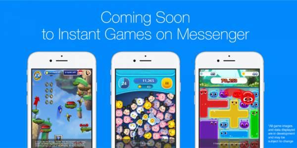 Instant Games във Facebook Messenger се сдоби с опция за живи излъчвания на игри