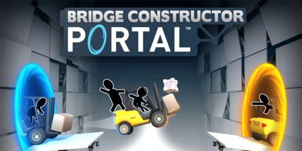 Bridge Constructor Portal идва, за да ви потопи отново във вселената на Portal