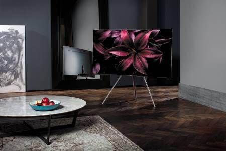 Samsung QLED TV: красив, дори когато е изключен