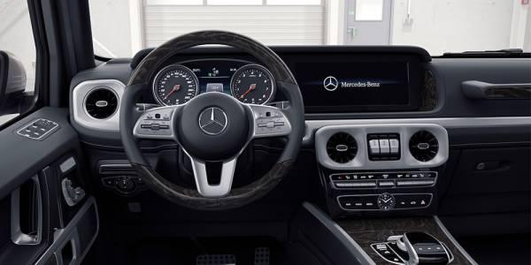 Новият интериор на Mercedes G-Class e най-значимата трансформация в историята на модела