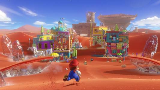 Ето как да изиграете Super Mario Odyssey, без да скачате