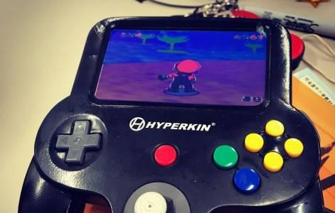 Прототипът на джобна Nintendo 64 Mini конзола заслужава да се види