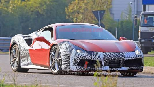 Това ли е новото Ferrari 488 GTО?
