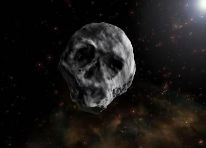 Астероид с формата на череп ще премине за втори път край Земята през 2018