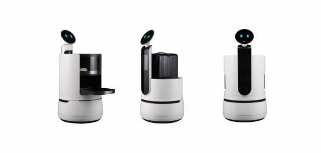 Роботите на LG вече помагат в хотела или на летището
