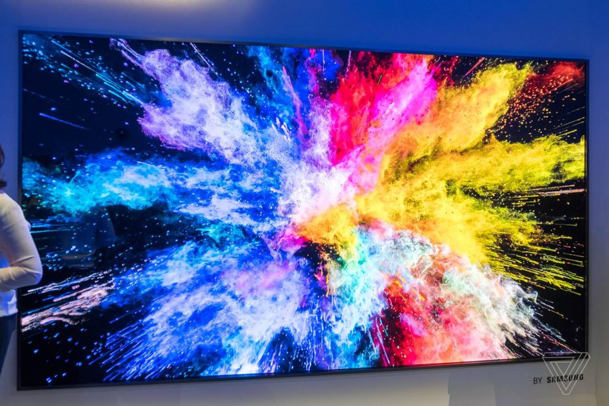 146-инчовият модулен телевизор The Wall на Samsung напълно заслужава името си