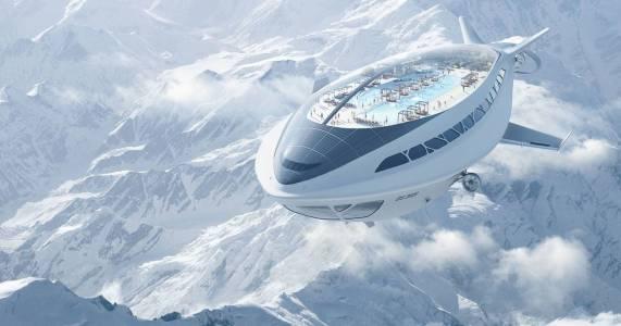 Крепост в небето: дирижабълът на бъдещето