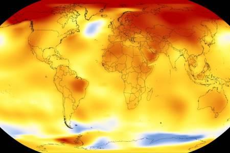 2017-а е една от най-горещите години в историята