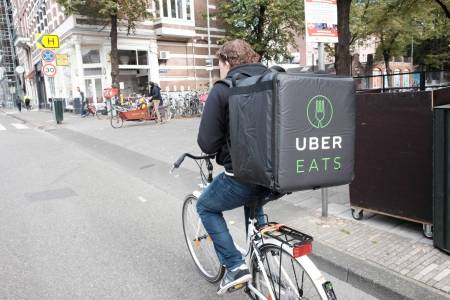 Най-печелившият бизнес на Uber - доставките на храна