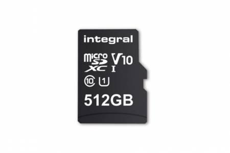 Нов рекорд при microSD картите - 512 GB от Integral Memory