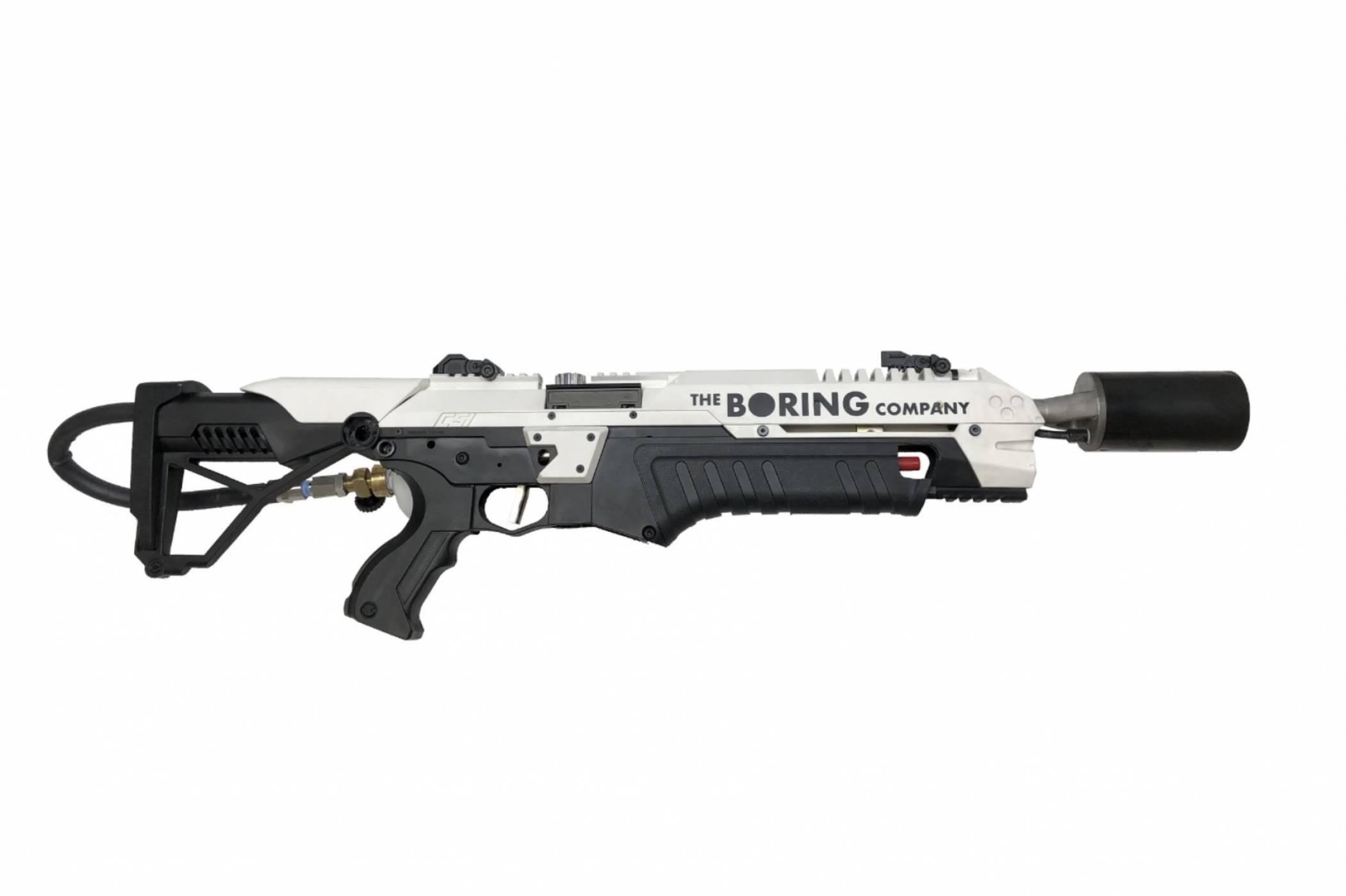 Това е огнехвъргачка на The Boring Company на Мъск