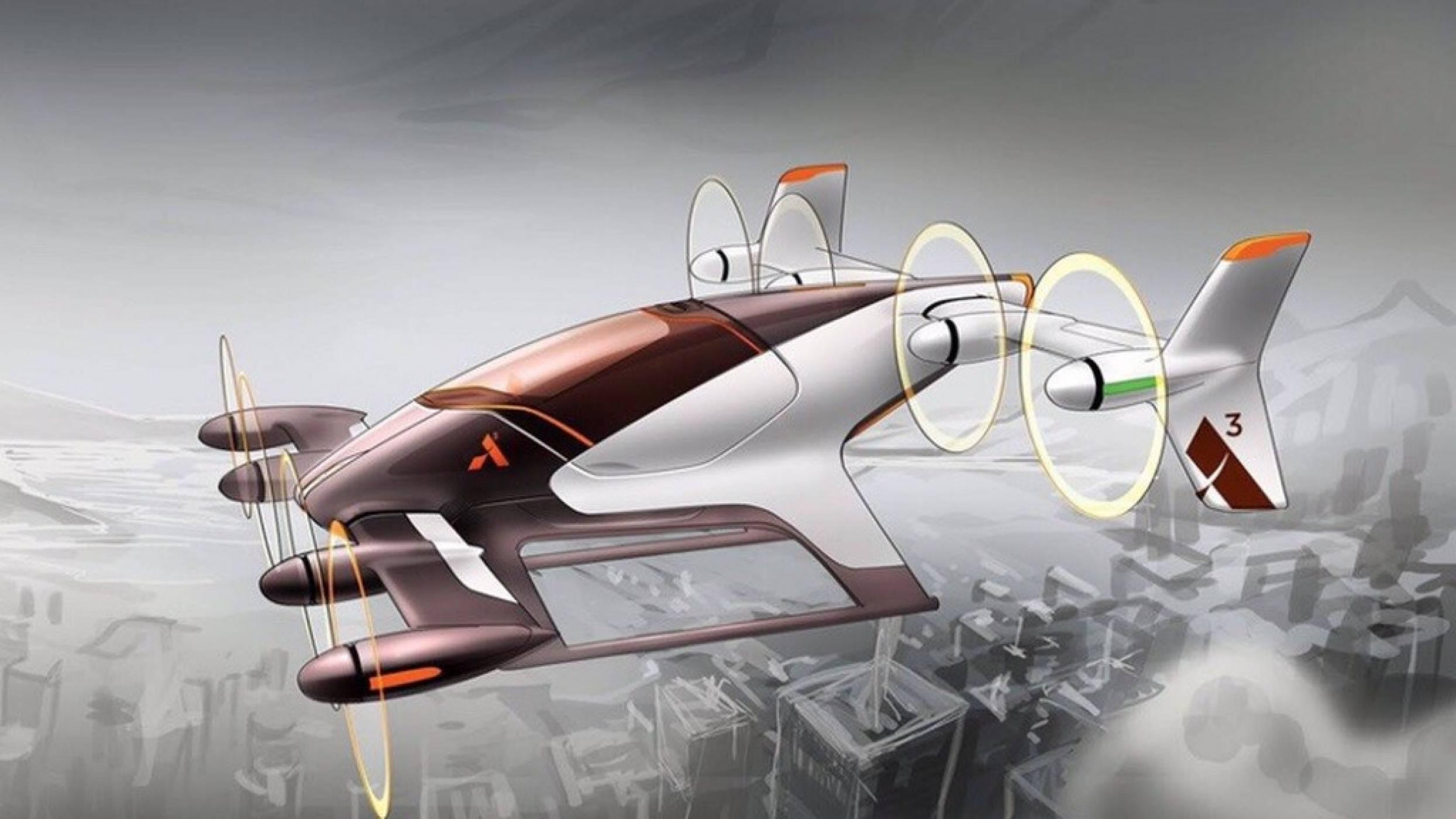 Новото летящо такси Airbus Vahana се издигна във въздуха за първи път