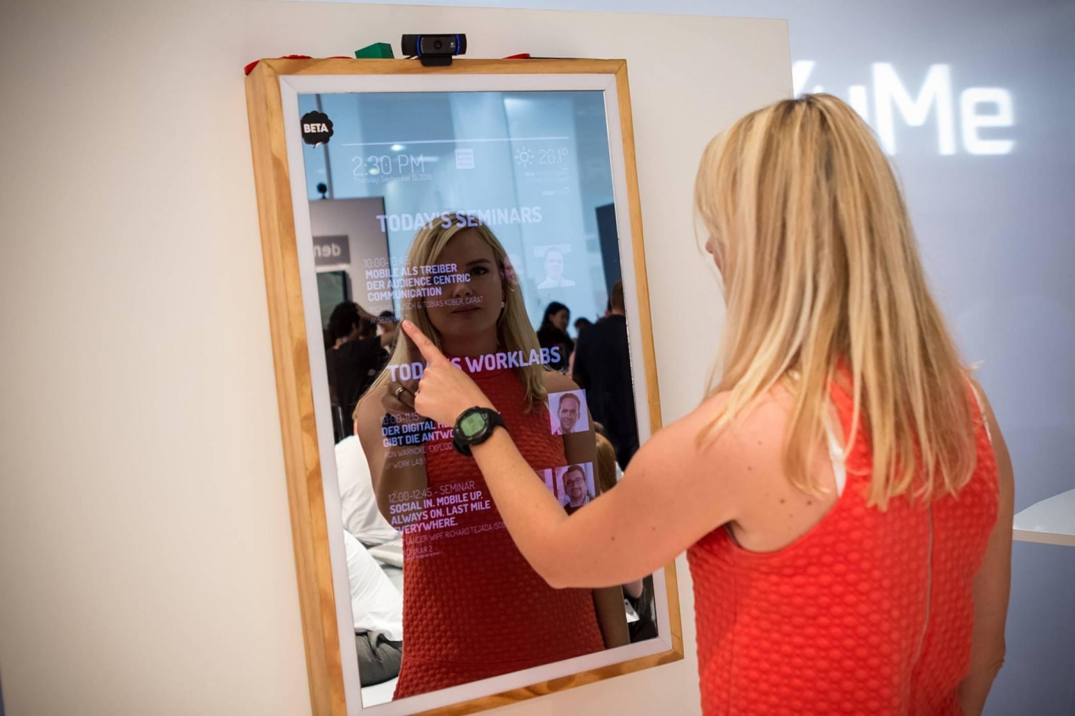 Ето как умно огледало ни помага да платим с усмивка