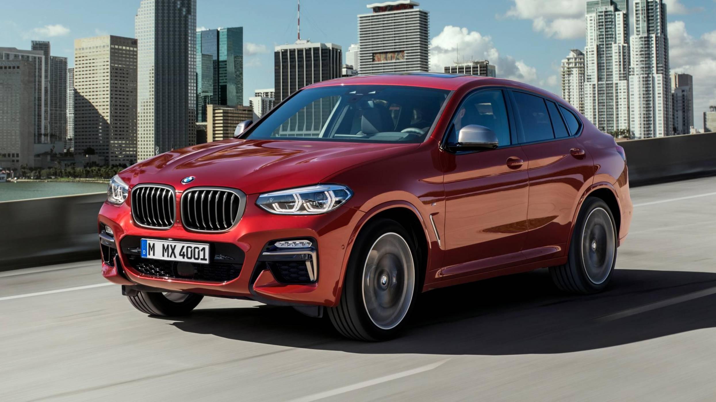 BMW показа за първи път новото X4