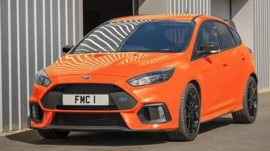Ford спира производството на Focus RS с последна лимитирана серия