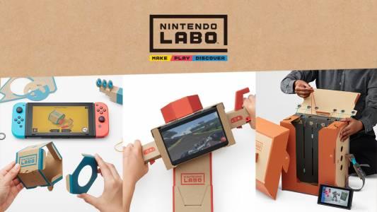 Nintendo Labo в действие: вижте как работят новите приставки към Switch