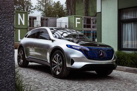 Mercedes представя първия сериен модел от линията EQ през следващия месец