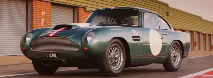 Този Aston Martin, току-що излязъл от завода, е на 60 години