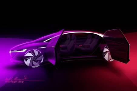 Volkswagen представя изцяло автономния I.D. Vizzion в Женева
