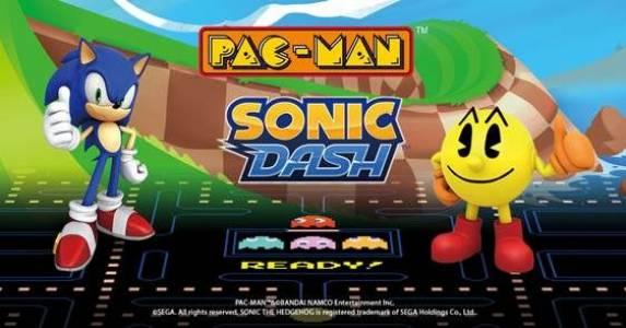 Иконите Pac-Man и Sonic в безпрецедентна комбинация